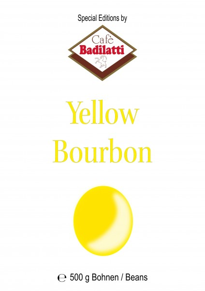 - Yellow Bourbon Beans 500 g - Limited Edition -