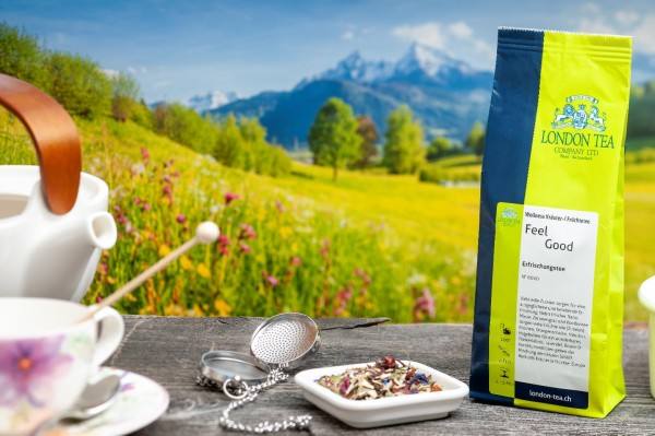 Feel Good Wellness Tea - Nr. 6010 - 80g - London Tea Basel