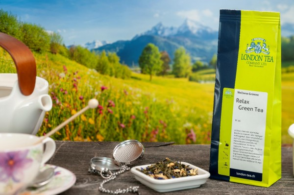 Relax Green Wellness Tea - Nr. 59 - 70g - London Tea Basel