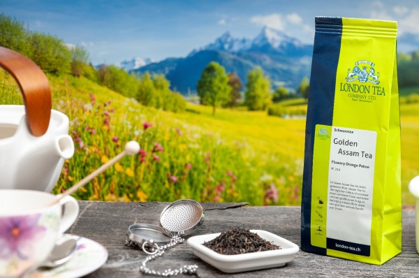 Golden Assam Tea FOP - Nr. 259 - 100g - London Tea Basel