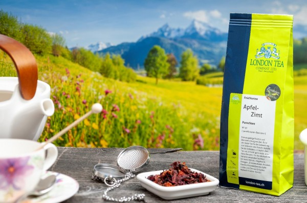 Apfel Zimt Tee Bio - Nr. 97 - 125g - London Tea Basel