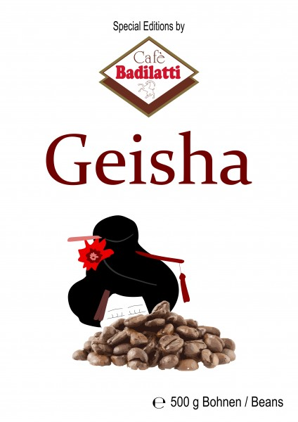 Geisha Beans 500 g - Limited Edition
