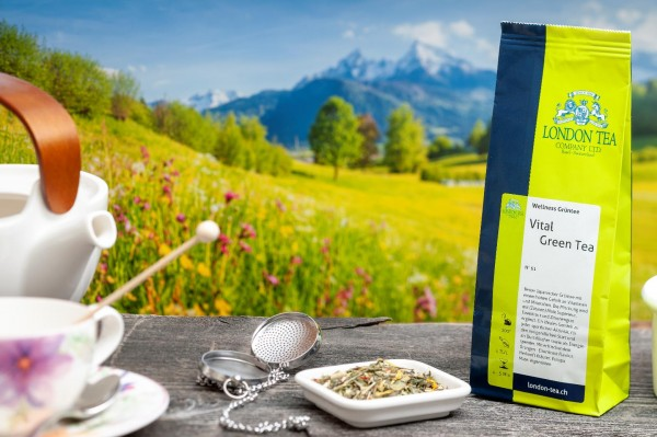 Vital Green Wellness Tea - Nr. 61 - 80g - London Tea Basel